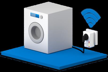 smart home einsatz f r die waschmaschinen steuerung news. Black Bedroom Furniture Sets. Home Design Ideas