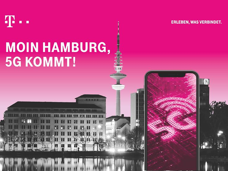 Telekom 5G LTE in Hamburg